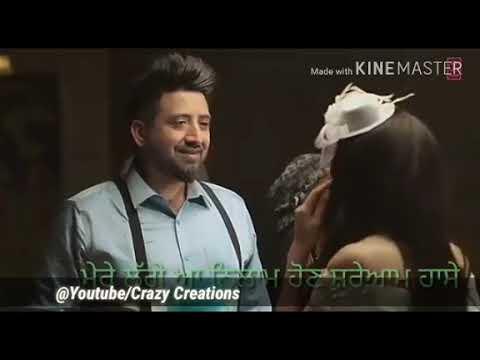Balraj | Meri Ashiqui | lyrics| Latest song by Balraj whatsapp video status | Crazy Creations