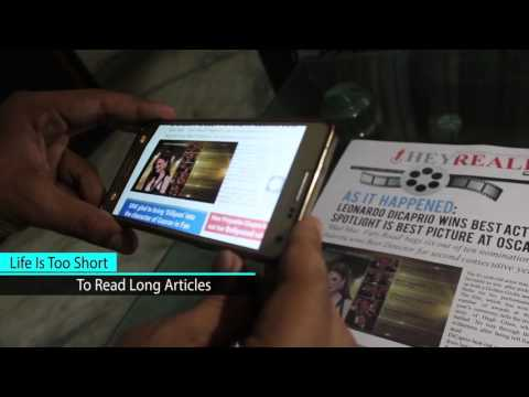 Augmented Reality Newspaper