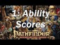 PATHFINDER Roleplaying Game, RPG Character Creation Ep  1 | Ability Scores