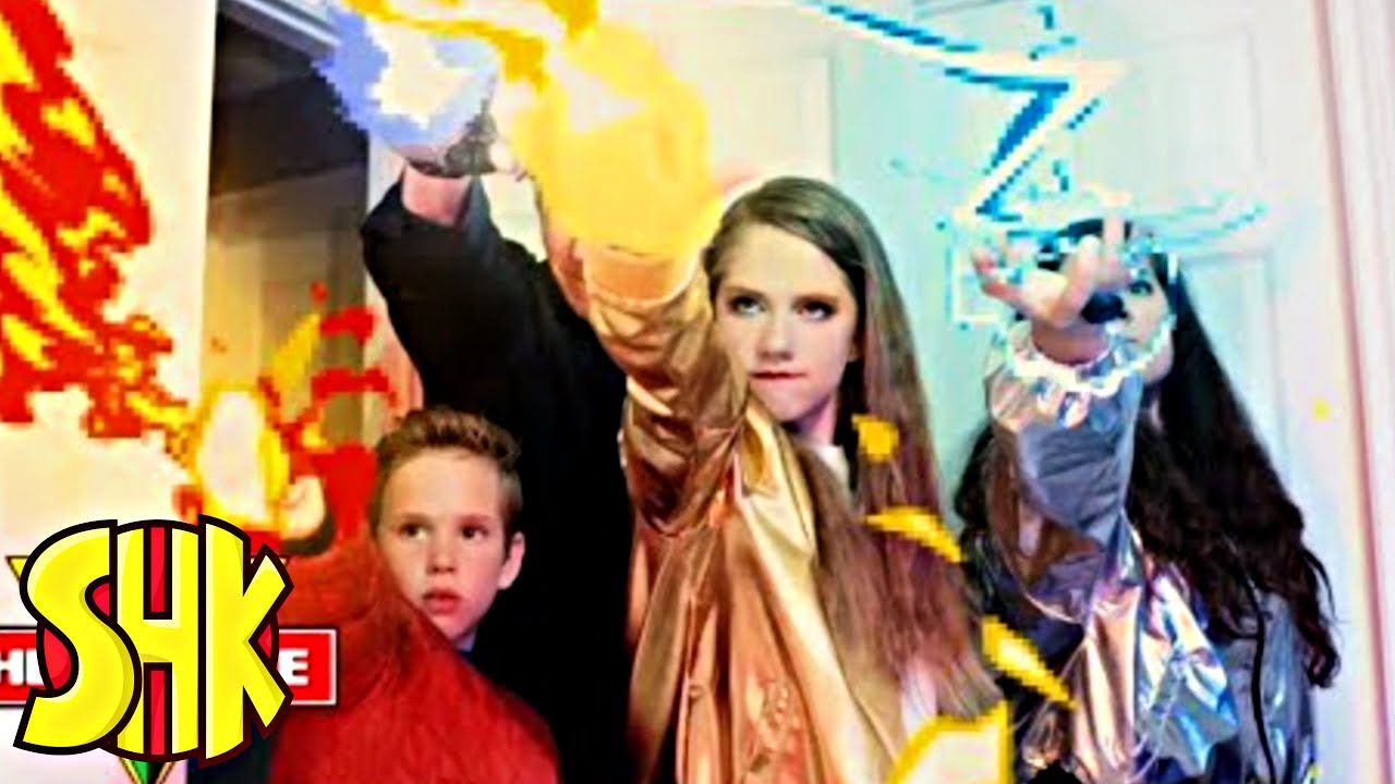 Download SuperPower Rings Origin Story! SHK HeroForce Full Movie Compilation | SuperHeroKids