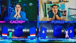 QUIEN ES QUIEN CON MEJORAS +81 DE LA CHAMPIONS VS PUMUSCOR!!! | FIFA 20