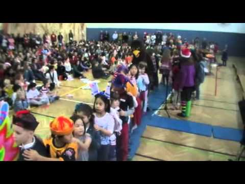 Annual Holiday Sing-Along at the International School of Prague