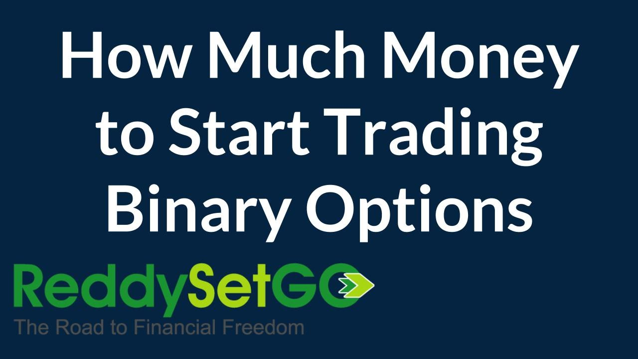 How much money to start option trading