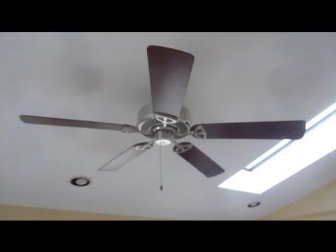 Hampton Bay Farmington ceiling fan (1 of 2) - YouTube