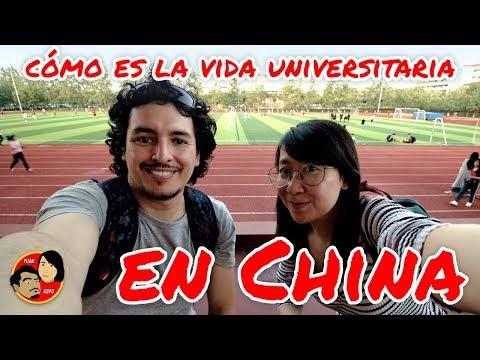 ¿¿Cómo Es La Vida De Los Universitarios En China??