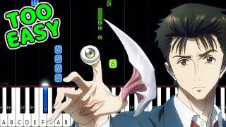 Download Let Me Hear - Kiseijuu OP - EASY Piano Tutorial [animelovemen]