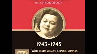 Mildred Bailey & Teddy Wilson. Sunday, Monday or Always. 1943