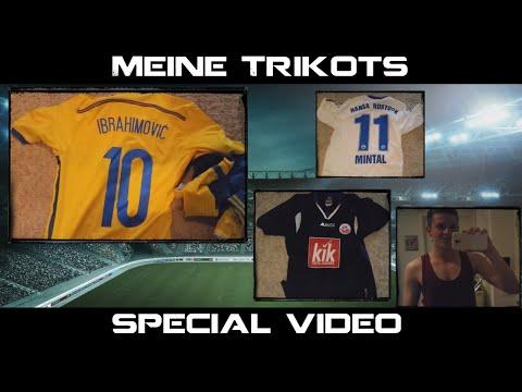 Meine Trikots - Special Video - Danke für 17.000 Abos!! ;)