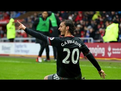 Gol di gabbiadini all'esordio in Southampton-  West Ham
