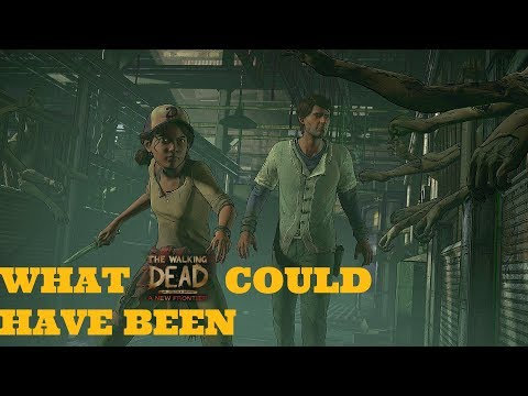 What The Walking Dead:A NEW FRONTIER COULD HAVE BEEN (CUT CONTENT SEASON 3 TWD ANF)