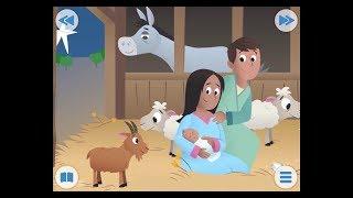 El nacimiento de Jesús | Historias de la Biblia para Niños | Biblia para Niños | Abraham Vlogs