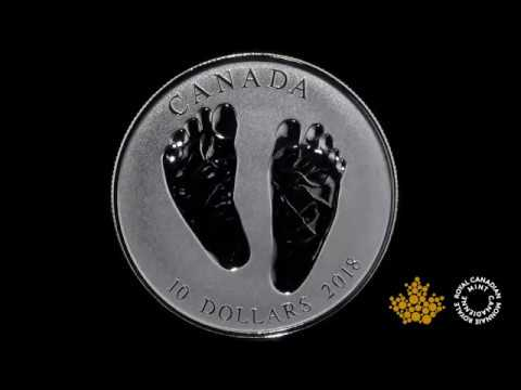 2018 Baby Gift - Welcome to the World Silver Coin