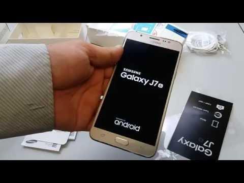 Unboxing  - Samsung Galaxy J7 (2016) (Malaysia)