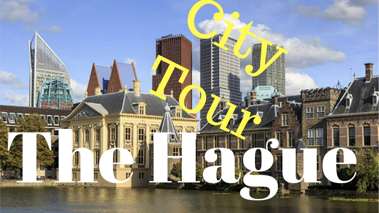 The Hague (Den Haag), The Netherlands (Big Tour) City Centre, City Hall and Parlement image