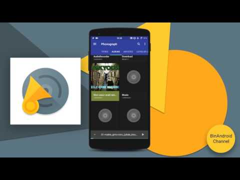 Phonograph - L'excellent lecteur de musique sur Android! | BinAndroid