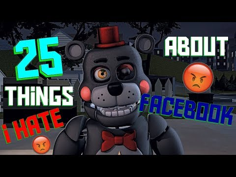 SFM 25 Things i HATE about Facebook Julian Smith