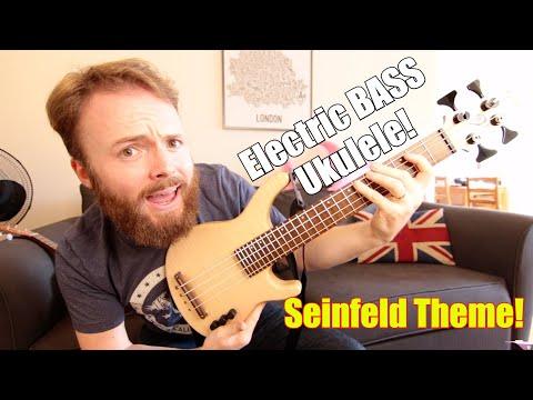 SEINFELD THEME - UKULELE BASS COVER!