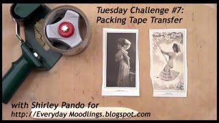 Packing Tape Transfer