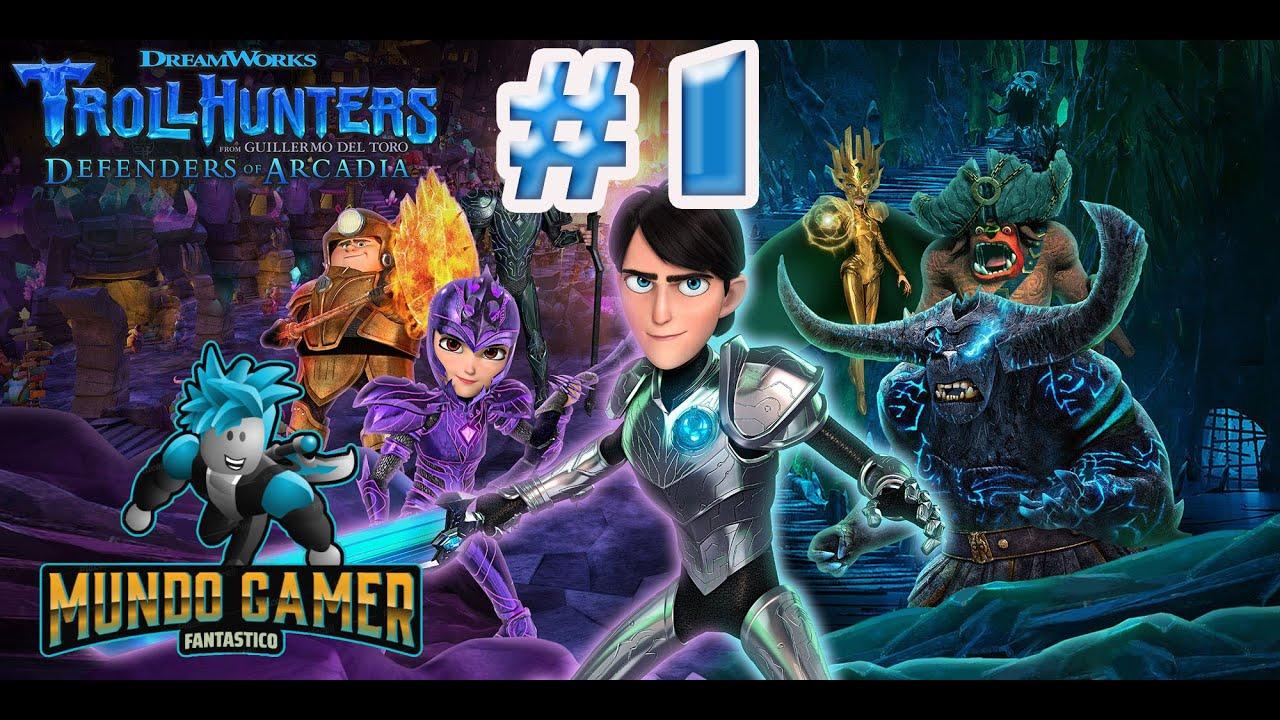 Download Troll Hunters Defenders of Arcadia Game En español #1