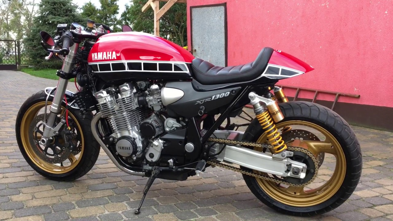 Yamaha XJR 1300 Sound Cafe Racer 60th Anniversary - YouTube