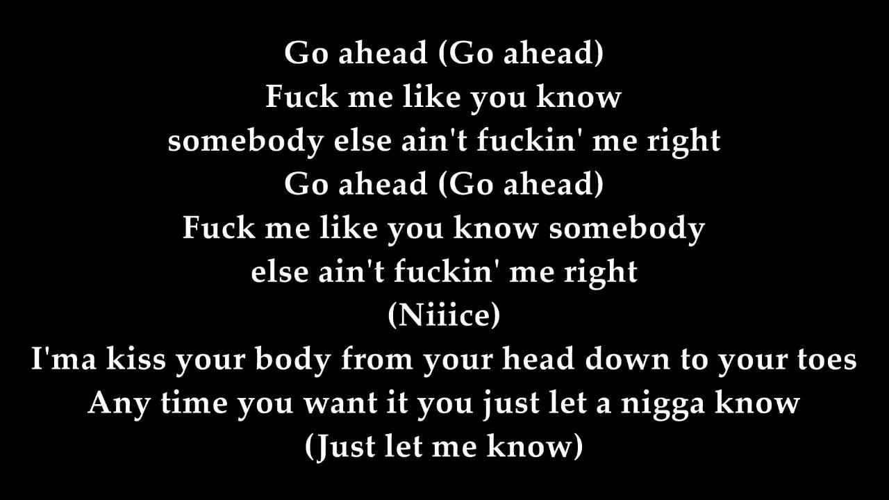 Fabolous Doin It Well Ft Nicki Minaj Trey Songz Lyrics On Screen Youtube