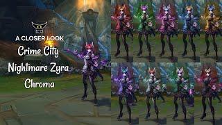 Crime City Nightmare Zyra Chromas