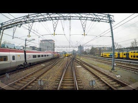 4K Cab Ride NL Enkhuizen – Hoorn – Amsterdam CS / IC 3957 / 27-01-2018