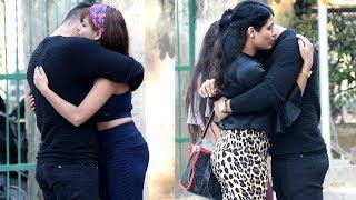 Hugging Cute Girls Prank   By Vinay Thakur