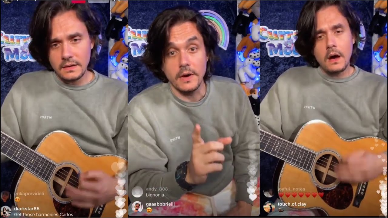 Download John Mayer on Instagram Live- Current Mood - Christmas Edition 12- 24  -2020