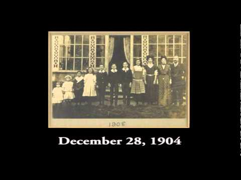 1902-1912: The Wall Family Christmas/New Years Recordings in London (Condensed)