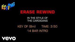 The Cardigans - Erase Rewind (Karaoke)