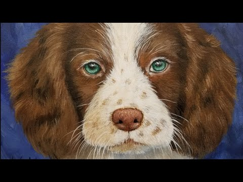 How To Paint A DOG 🎨 Acrylic Painting Tutorial LIVE! #yearofthedog