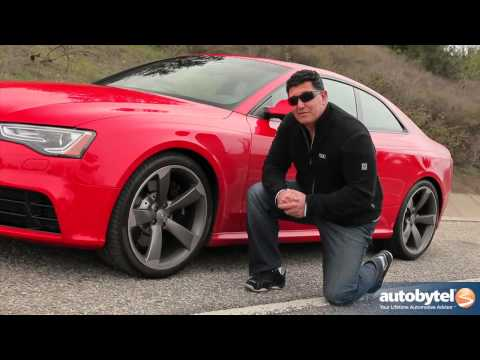2013 Audi RS 5 Track Test Drive & Sports Car Video Review