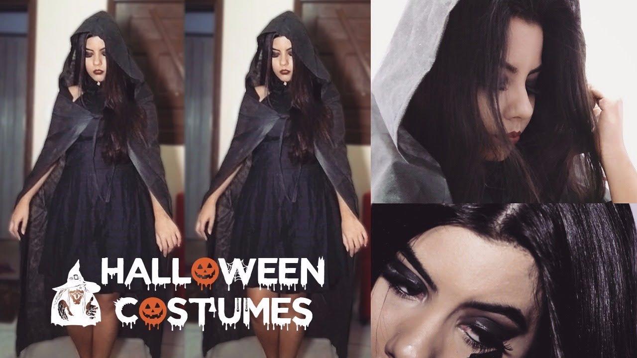 Fantasia Improvisada Para Halloween Make E Look Marry Oliveira