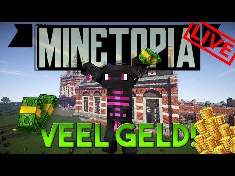 VEEL GELD VERDIENEN!? - Minetopia LIVE! #Gezellig!