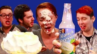 Ranch Dressing Soda And Pie In The Face Feat. Aureylian, Captainsparklez, Hwnt