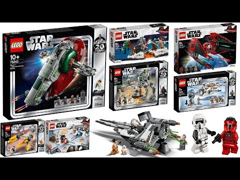 All Lego Star Wars 20th Anniversary April 2019 Sets Youtube