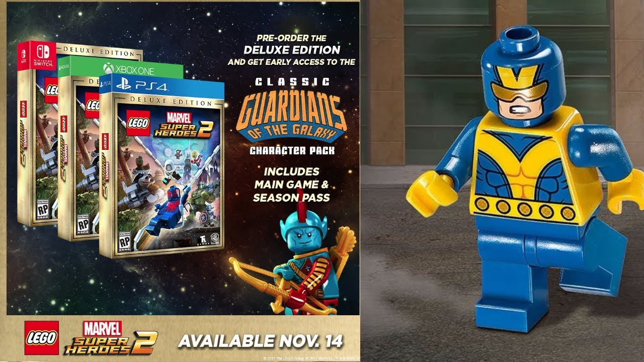 Get Lego Marvel Super Heroes DLC Code on PS3 & Xbox 360 2015 - YouTube
