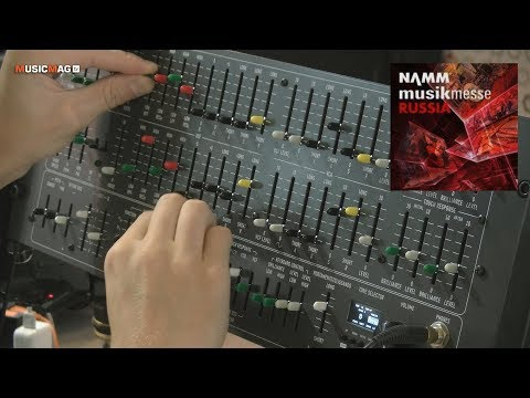 Deckards Dream: аналоговый синтезатор - демо звучания (NAMM Musikmesse Russia 2018)