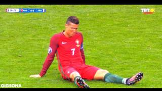 Cristiano Ronaldo Injured And Win Euro 2016 / Never Give Up