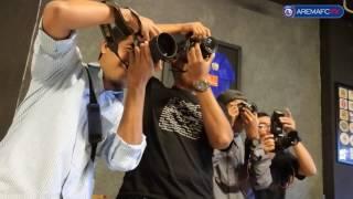 Workshop Shoot On Goal Arema Sport Photography