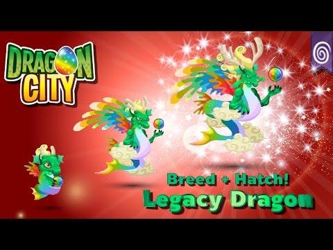 [Dragon City] ผสม + ฟักไข่มังกรมรดกตกทอด Breed + Hatch Legacy Dragon  Legendary  amSiNE