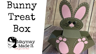 Simple Bunny Basket Treat Box