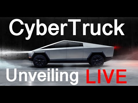 Tesla Cyber Truck Event