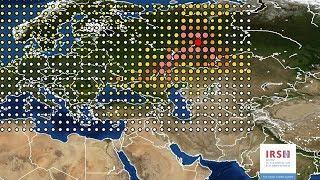Южно-Уральская радиация накрыла Европу.