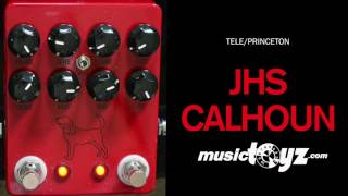 JHS The Calhoun V2 Fuzz Overdrive Mike Campbell Guitar Pedal