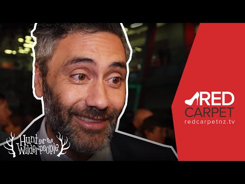 The Hunt for the Wilderpeople premiere - Interview with Taika Waititi