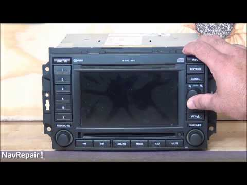 Chrysler® Dodge® Jeep® RAM® REC (CAM & Non-CAM) GPS Navigation Radio Repair Service
