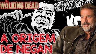 Origem do Negan - The Walking Dead Quadrinhos HQ TWD