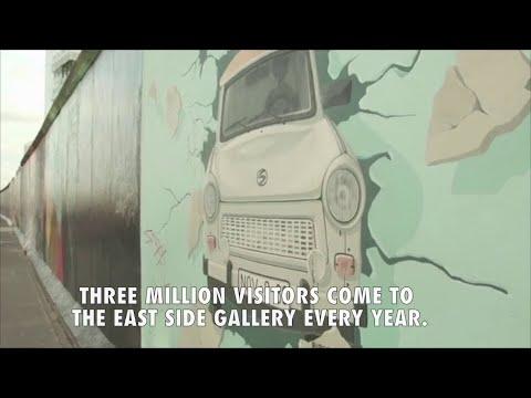 Berlin's East Side Gallery is saved - Berlin Wall